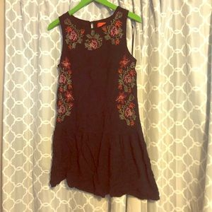 Chelsea and violet swing cotton dress embroidered